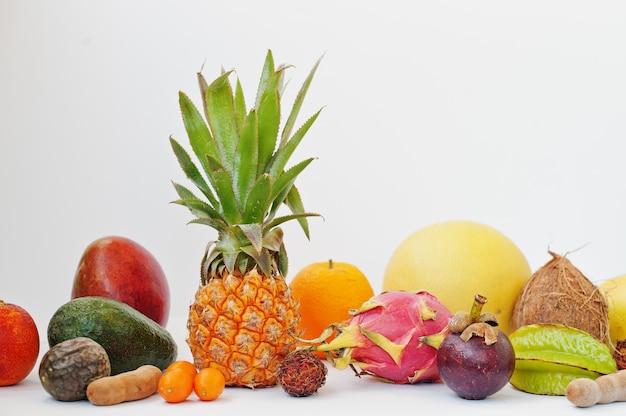 Exotische früchte Premium Fotos