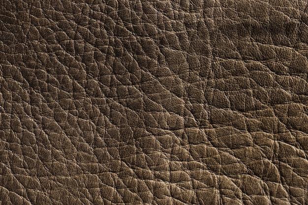 Extrem nahaufnahme dunkelbraune leder textur hintergrundoberfläche Kostenlose Fotos