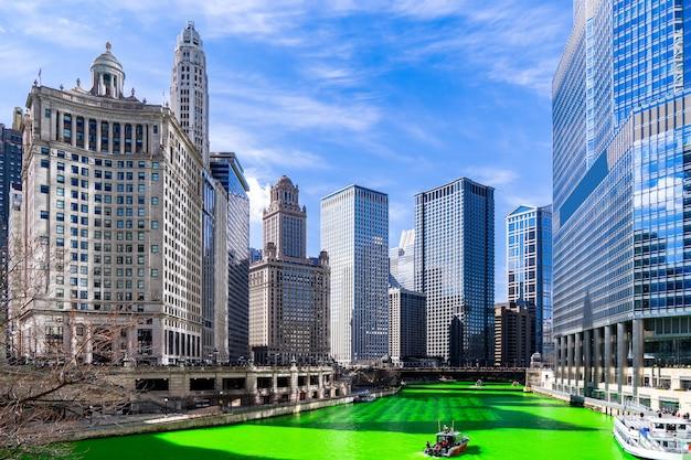 Färberei chicago st 'partick day. Premium Fotos