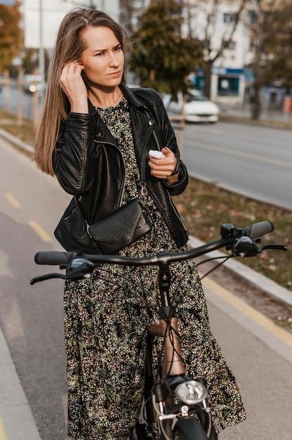 Fahrrad stadtleben musik hören Kostenlose Fotos