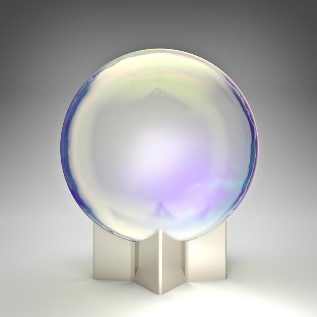Fantasy kristallkugel Premium Fotos