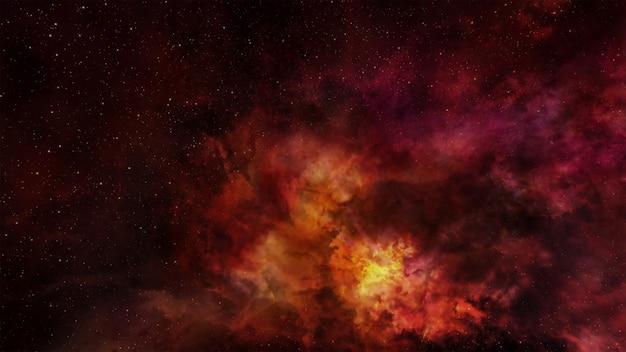 Fantasy space hintergrund Premium Fotos