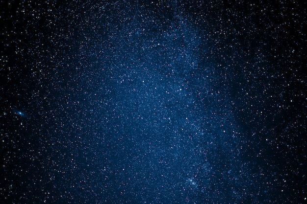 Farbe des jahres 2020 klassisches blau. sternenhimmel Premium Fotos