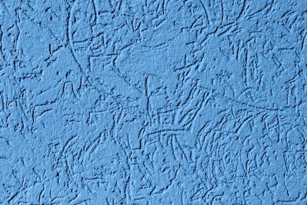 Farbe des jahres 2020 klassisches blau. textur mit textfreiraum Premium Fotos