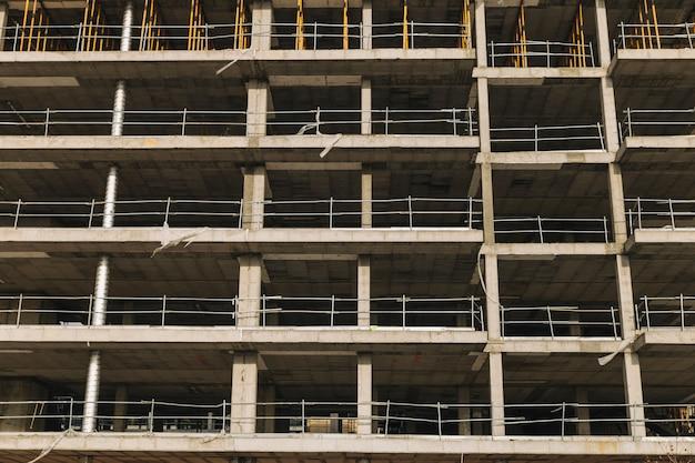 Fassade des Gebäudes im Bau Kostenlose Fotos