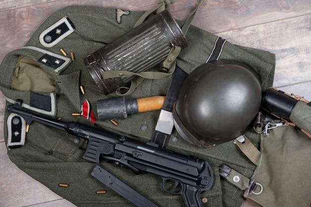 Feldausrüstung der bundeswehr. Premium Fotos