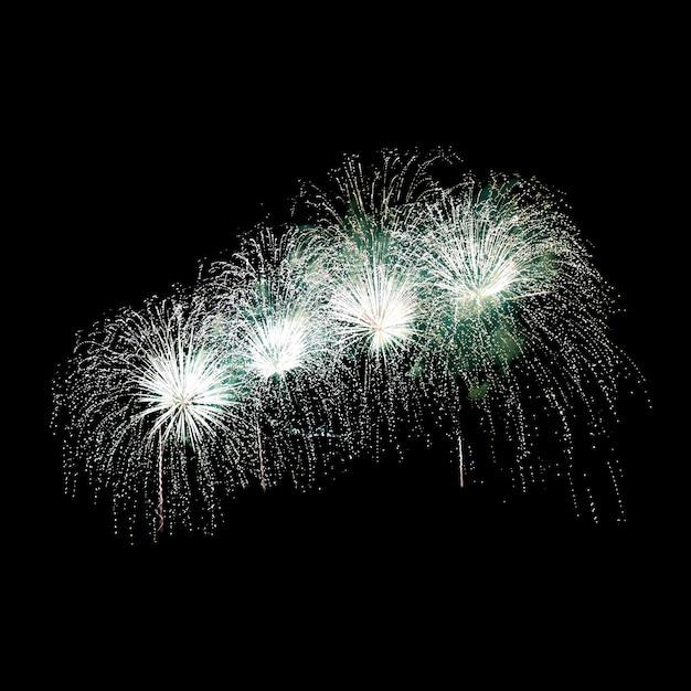 Feuerwerk am nachthimmel Premium Fotos