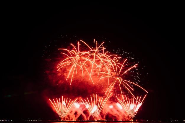 Feuerwerksfestival in thailand Kostenlose Fotos