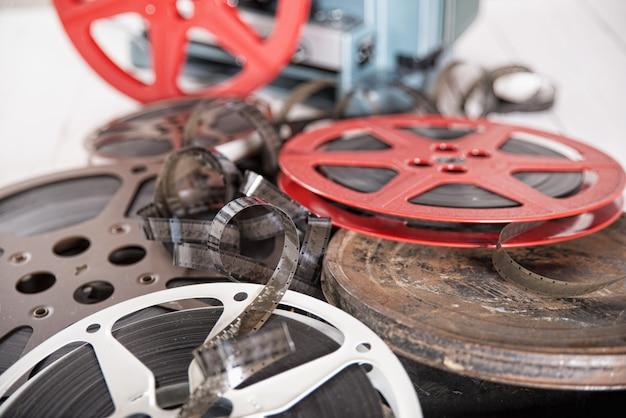 Filme und rollen Premium Fotos