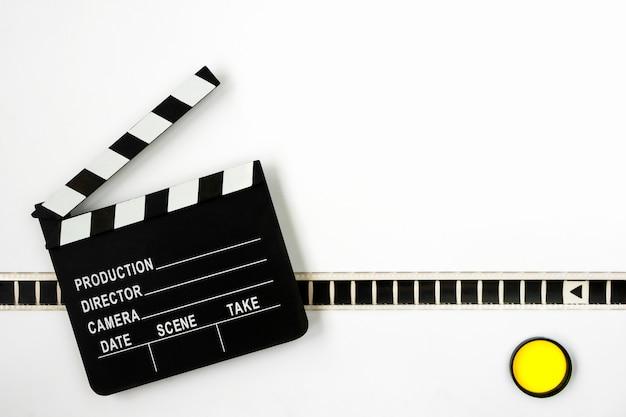 Filmklappe und film Premium Fotos