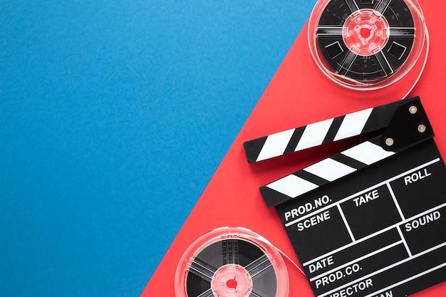 Filmklappen- und filmspulen mit kopienraum Kostenlose Fotos