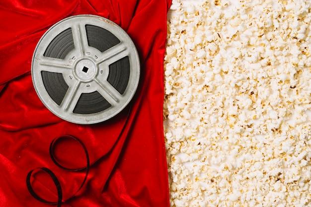 Filmspule und popcorn Kostenlose Fotos