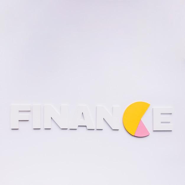Finanzwort mit c ersetzt durch kreisdiagramm Kostenlose Fotos