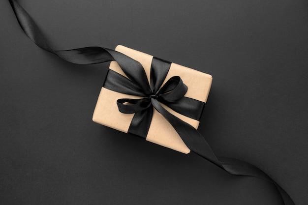 Flache lag schwarz freitag verkaufssortiment mit geschenken Kostenlose Fotos
