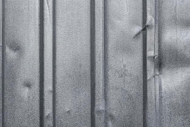 Flache lage der metalloberfläche mit rippen Kostenlose Fotos