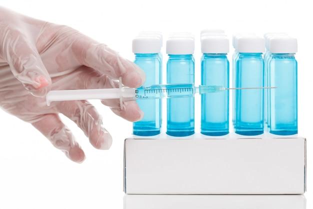 Fläschchen mit impfstoff Kostenlose Fotos