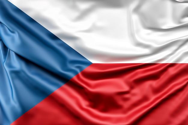 Flagge der tschechischen republik Kostenlose Fotos