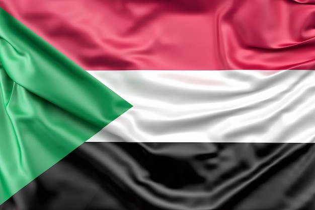 Flagge des sudan Kostenlose Fotos