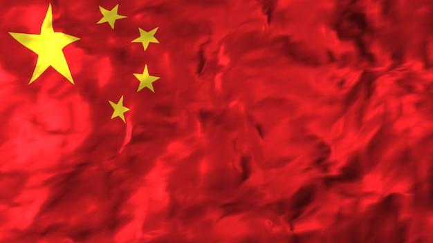 Flagge von china. Premium Fotos