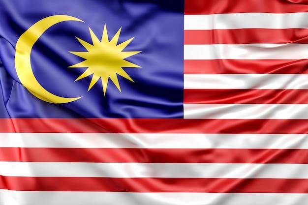 Flagge von malaysia Kostenlose Fotos