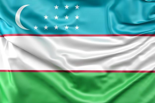 Flagge von usbekistan Kostenlose Fotos