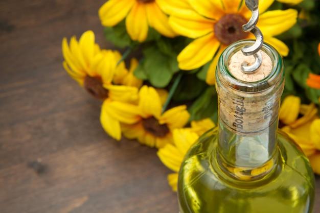 Flasche wein Premium Fotos