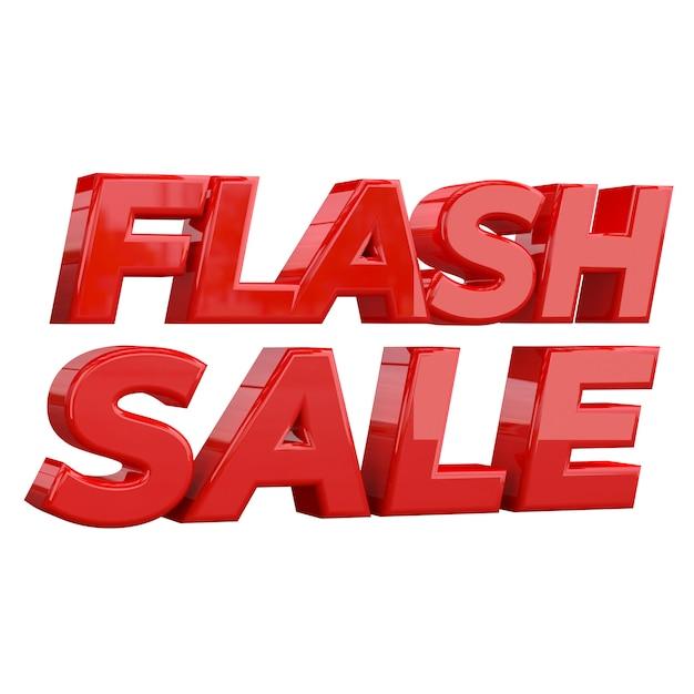 Flash sale banner template design, sonderaktion Premium Fotos