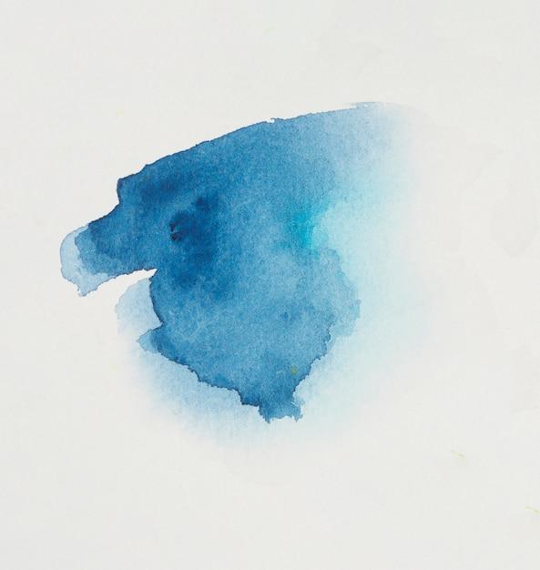 Fleck von hellblauem pigment Kostenlose Fotos
