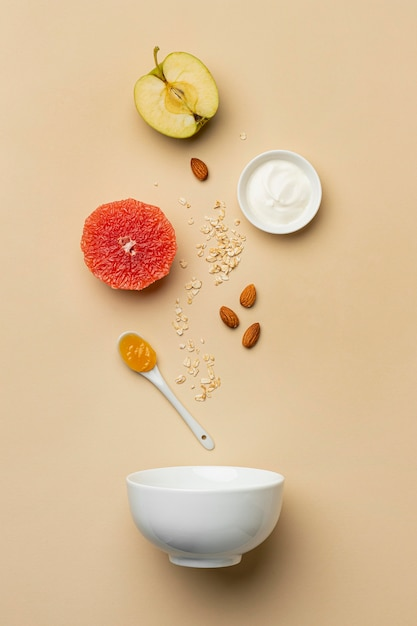 Flexitäre ernährung mit obstarrangement Kostenlose Fotos