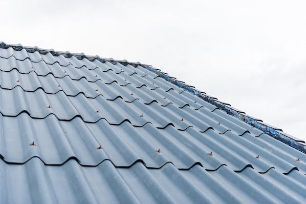 Fliesen dach hintergrund Premium Fotos
