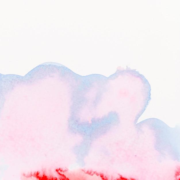 Fließende malerei auf weißem hintergrund Kostenlose Fotos