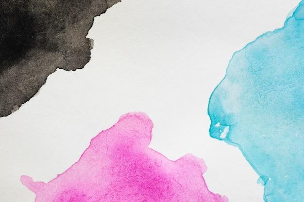Flüssige flecken von bunten farbtönen handgemalt Kostenlose Fotos