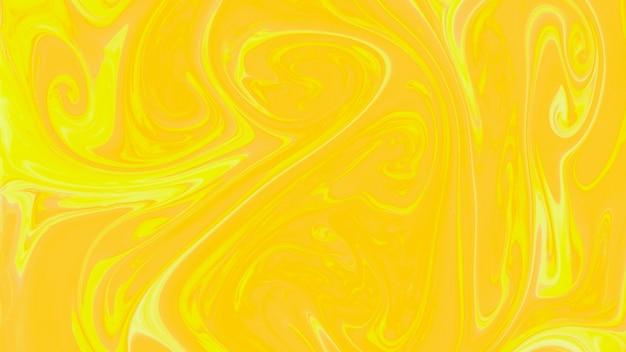 Flüssiger abstrakter gelber marmorhintergrund Kostenlose Fotos