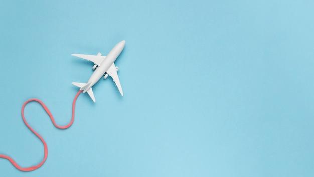 Flugzeug route konzept Kostenlose Fotos
