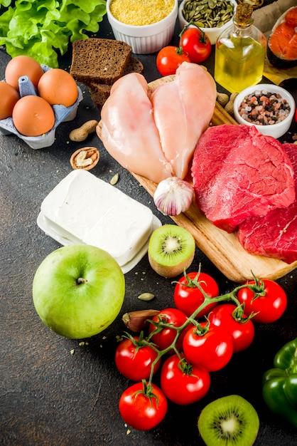 Fodmap gesunde ernährung Premium Fotos