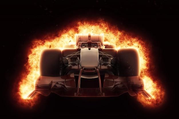 Formel ein auto brennen Kostenlose Fotos