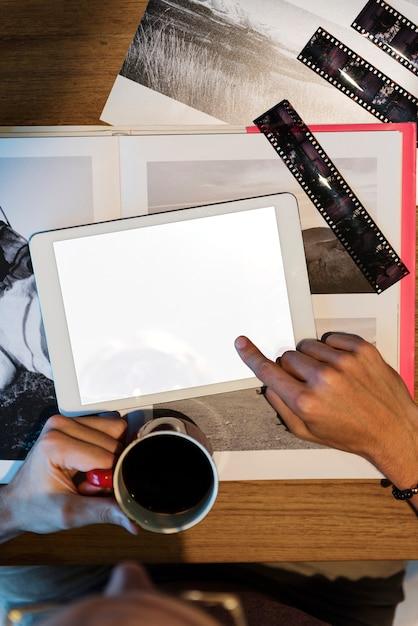 Fotografie-ideen-kreatives besetzungs-design-studio-konzept Premium Fotos
