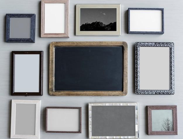 Fotorahmen-collage Premium Fotos