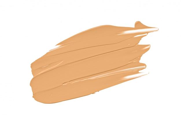 Foundation make-up creme, nackter concealer isoliert Premium Fotos