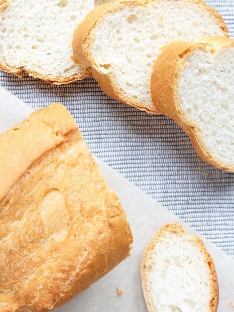 Französisch frisches brot baguettes Premium Fotos