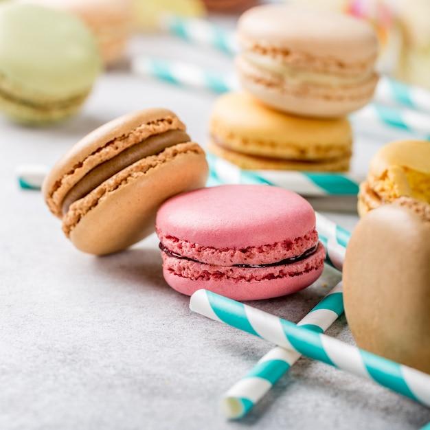 Französische macarons Premium Fotos