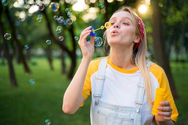 Blasen Im Freien