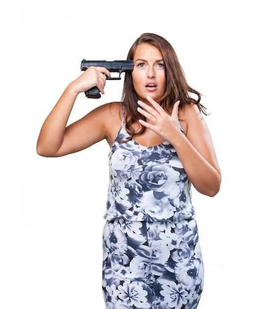 Frau versucht, selbstmord Kostenlose Fotos