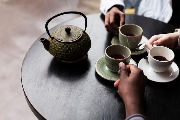 Freunde beim kaffee Kostenlose Fotos