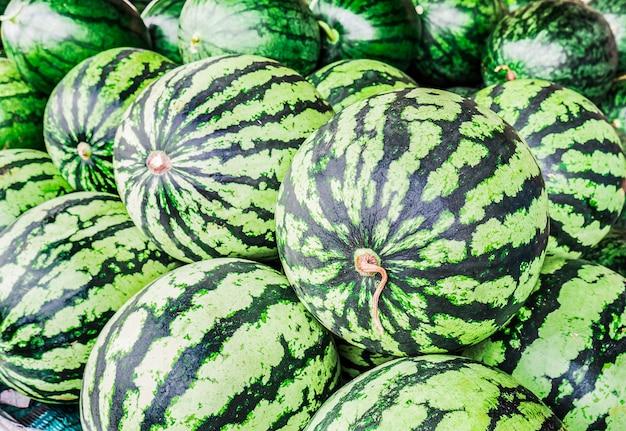 Frische wassermelonen. Kostenlose Fotos