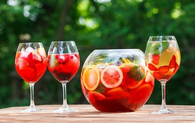 Frischer alkoholfreier cocktail. Premium Fotos