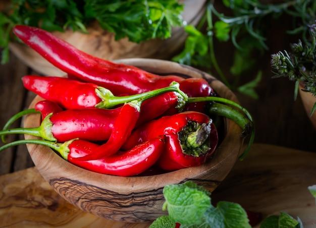 Frischer chili Premium Fotos