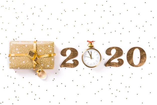 Frohes neues jahr 2020. Premium Fotos