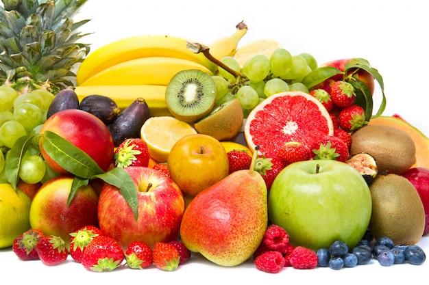 Früchte und gemüse Premium Fotos