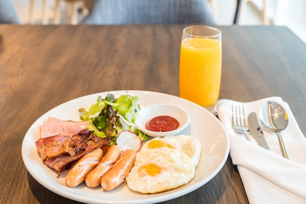 Frühstücksset Premium Fotos